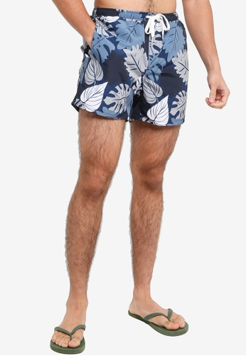 Only & Sons blue Ted Swim Shorts 5FB90US5F0DC23GS_1