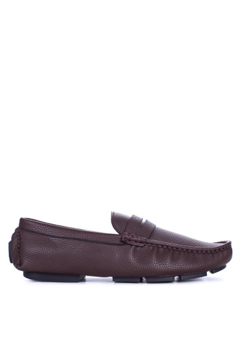 Mendrez brown Liam Loafers & Moccasins ME992SH68ZUPPH_1