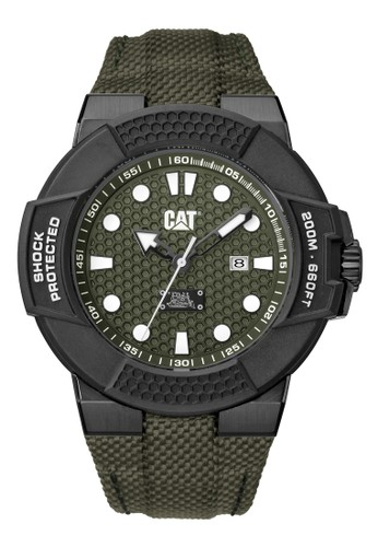 Caterpillar black Casual Men's Watches CAT SF.161.63.313 49E61AC904D9F8GS_1