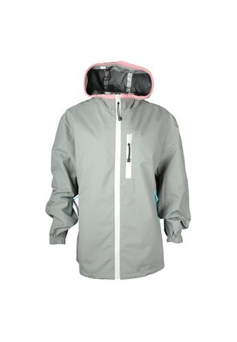 PRADA grey Prada Hooded Jacket in Grey A6FF1AA741F3EFGS_1