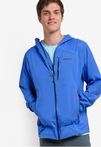 Patagonia blue Stretch Rainshadow Jacket PA549AA30WZDMY_1