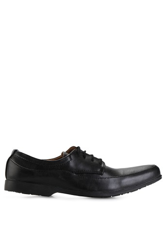 Dr. Kevin black Business & Dress Shoes Shoes 13300 Hitam Leather DR982SH04MHZID_1