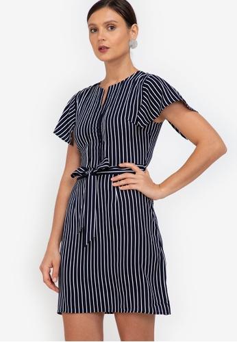 ZALORA WORK multi Handkerchief Sleeves Mini Dress 9D921AA5E69FA2GS_1