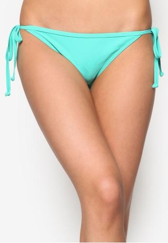 Piha green Solid Separates String Bikini Bottom PI734US73UVYMY_1