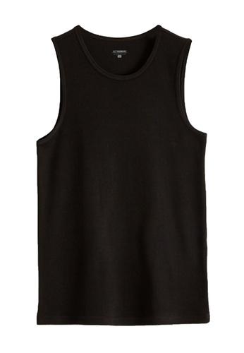 LC Waikiki black Standard Fit Basic Thermal Athlete Undershirt 1FDFDUS1D674DAGS_1