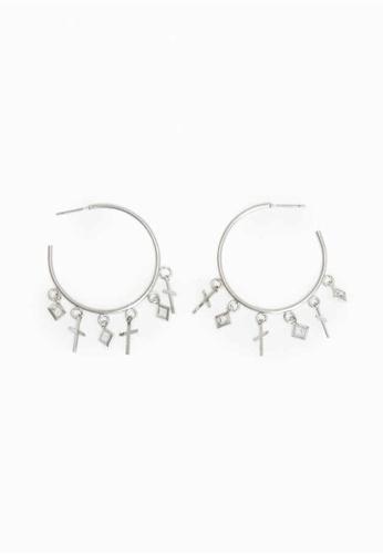 Parfois gold Hoop Fever Large Hoop Earrings 6E6A7AC19F282FGS_1