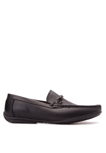 Wade black Smart Casual Loafers WA436SH79JYAPH_1