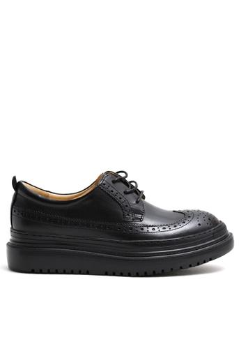Twenty Eight Shoes Platform Leather Brogue YM21403 C1146SH5CDA800GS_1