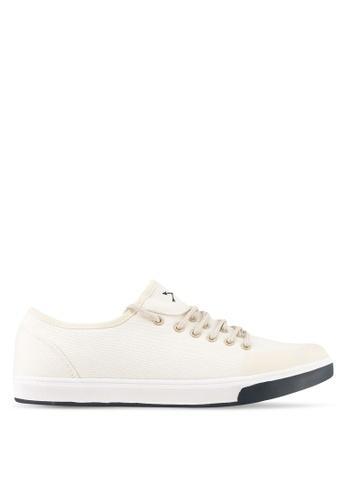 JAXON white Canvas Sneakers 52ACBSH857FC82GS_1