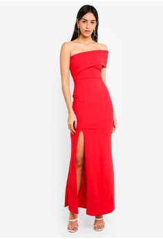 744e655cf658e6 35% OFF MISSGUIDED One Shoulder Maxi Dress RM 169.00 NOW RM 109.90 Sizes 6  8 10 12 14