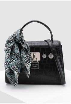 Guess black Anne Marie Top Handle Flap Bag FD946AC4C17C6CGS 1 e797ba302a909