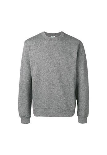 KENZO grey Kenzo LETTERING LOGO Sweatshirt in Grey 6D6F0AA94B0223GS_1