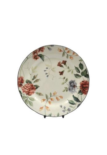 "Claytan Priscilla W Banding - 8.25"" Salad Plate 080D9HLAADD553GS_1"