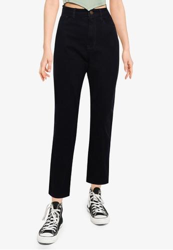Hollister navy Mom Jeans 0E4AFAA372F876GS_1