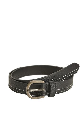 MANGO KIDS black Metal Buckle Belt 0DAB3KC3AA05E1GS_1
