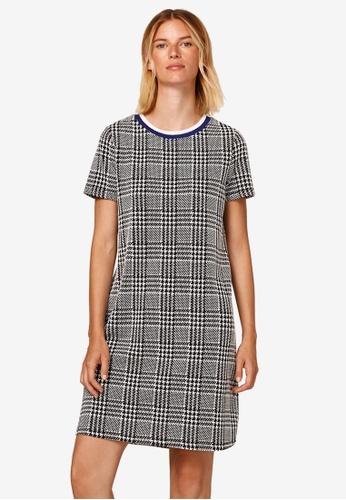 ESPRIT black Textured Stretch Jersey Dress 6161DAA8B59AF7GS_1