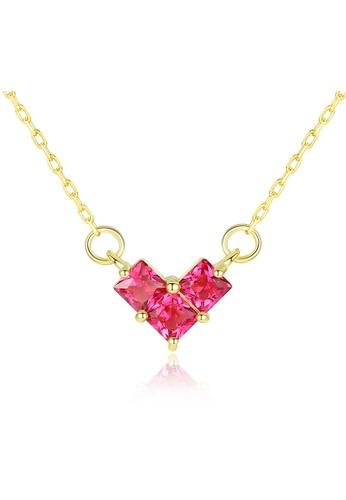 SUNRAIS gold Premium Silver S925 Gold Fashion Necklace 15D4FACE6BAEE2GS_1
