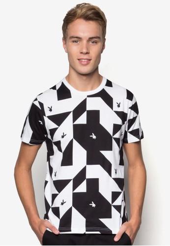 品牌幾何印花esprit home 台灣T 恤, 服飾, 服飾