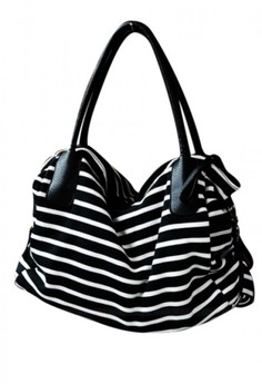 Hi Stripes Oversized Tote