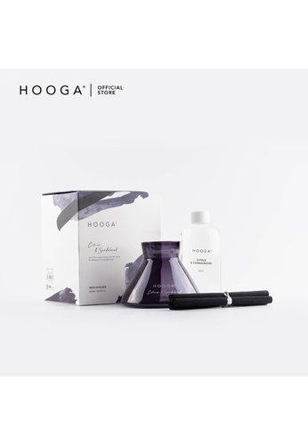 HOOGA Hooga Reed Diffuser Modernist Series Citrus & Sandalwood 70AA6HLD386006GS_1