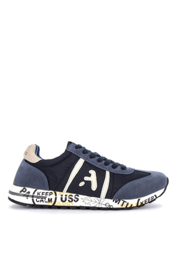 Alberto navy Lace up Sneakers 4FB8ASHDA7039FGS_1