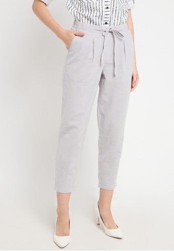 Le'Rosetz grey Grey Slim Pants 12C4FAAB3FF4FBGS_1