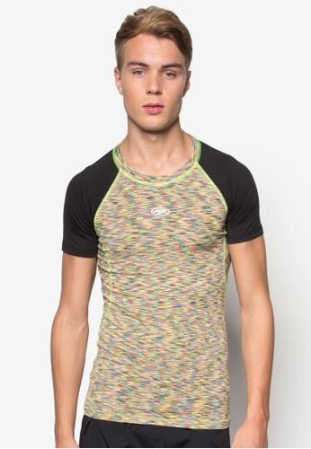 印花撞色短袖TEE, 服飾, esprit sgT-shirts