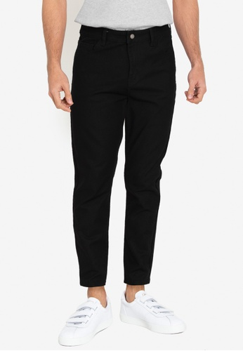 ZALORA BASICS black Skinny Fit Jeans 580ABAAC9D1882GS_1