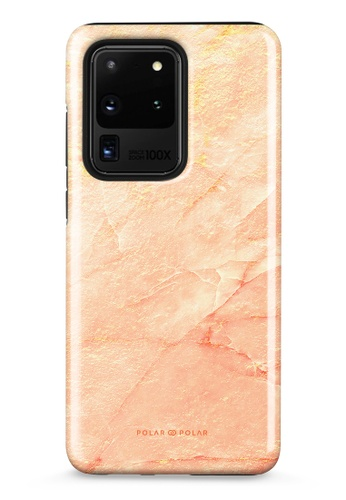 Polar Polar pink Sunset Samsung Galaxy S20 Ultra 5G Dual-Layer Protective Phone Case (Glossy) 211FDAC984B8A9GS_1