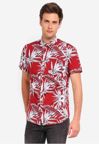 2918f3d9 Jack Floral Print Short Sleeve Shirt