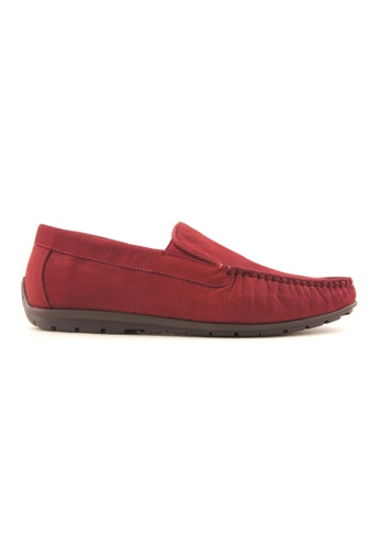 Rad Russel red Rad Russel Casual Slip On RA654SH68DEPSG_1
