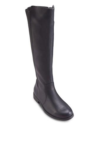 Wesprit outlet 台中estwick 彈性仿皮高筒靴, 女鞋, 鞋
