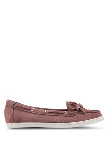 Carlton London 粉紅色 蝴蝶結樂福鞋 46C3FSH0C89DC1GS_1