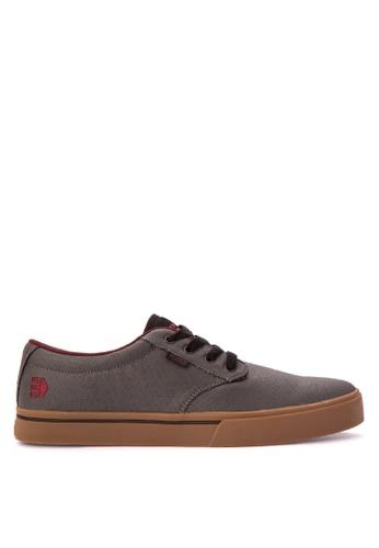 Etnies grey Jameson 2 Eco Sneakers 3229FSH1888188GS_1