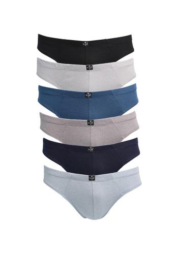 BRUTE multi Classic Bikini Cotton Briefs Mixed Colors - Set of 6 100C9US48BD527GS_1