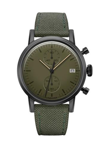 Undone black and green and multi Undone Modern Olive Watch  UN712AC2VEJBHK_1