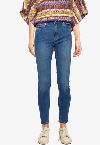 Mango blue High Waist Skinny Noa Jeans 28483AA979C713GS_1