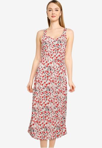 Vero Moda beige Easy Strap Calf Dress 1E771AA847C8E1GS_1