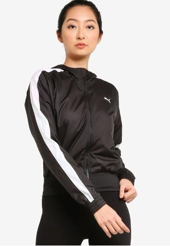 Puma black Favourite Hooded Women's Training Jacket A9ACFAA403C846GS_1