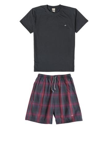 Crocodile black Crocodile SLOE Black 027 - Men Loungewear T-shirt Celana Pria - Bahan Katun BAAD6AA8B3BD6FGS_1