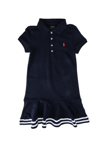 Polo Ralph Lauren navy Stripe Polo Dress B7C9AKA9A9C09BGS_1
