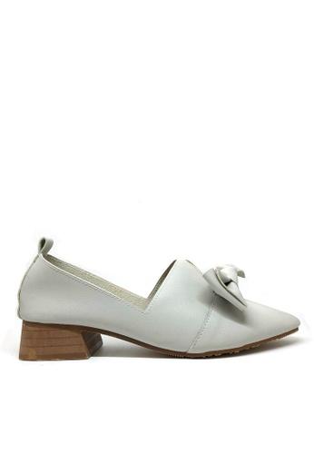 Twenty Eight Shoes 灰色 柔軟蝴蝶結輕便鞋662-11 303C8SH8957E7CGS_1
