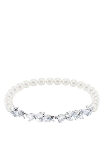 Buy Swarovski Louison Pearl Bracelet Online   ZALORA Malaysia 8efc94f3ad
