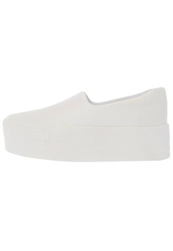 Maxstar C03 50 Synthetic Leather Platform Slip on Sneakers US Women Size MA168SH65DXUHK_1