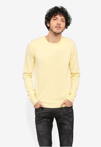 ZALORA yellow Pastel Sweatshirt C84A8AA7709D7DGS_1