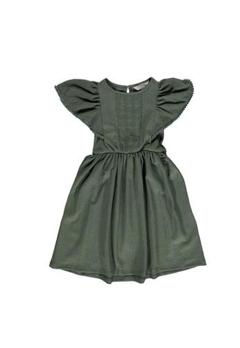 LC Waikiki green Lace Detailed Dress D0622KA18B2B62GS_1