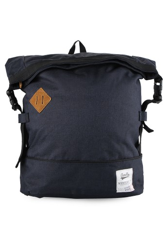 Anello navy Polycanvas Folding Rucksack AN804AC65WCGID_1