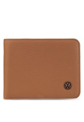 Volkswagen brown Volkswagen Bi-Fold Wallet VO089AC55GKMMY_1