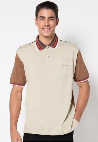 Hassenda brown Short Sleeve HA130AA61IXIID_1