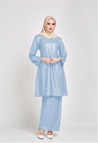 MOTHER & CHILD blue Permaisuri Kurung Riau Modern E954DAA756152FGS_1